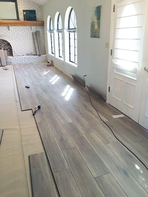 Water Resistant Laminate Flooring Home Remodeling Basement