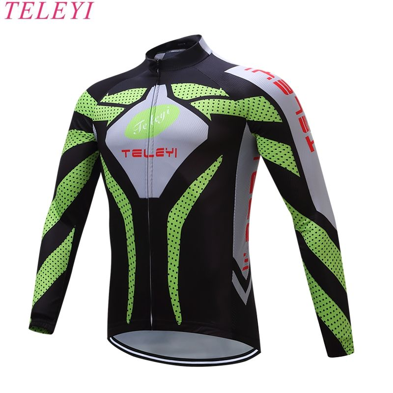 Autumn cycling clothing TELEYI Brand Retro Cycling Jerseys ropa ciclismo  hombre Quick-dry Men Cycling Wear - US  16.37 20bc2c53f
