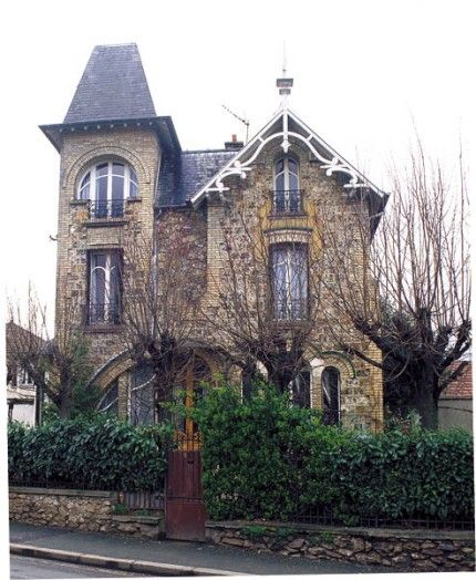 villa suzanne cormeilles en parisis villa belle poque pinterest meuli re grand paris et. Black Bedroom Furniture Sets. Home Design Ideas