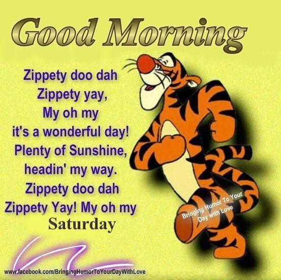Good Morning Saturday good morning saturday saturday