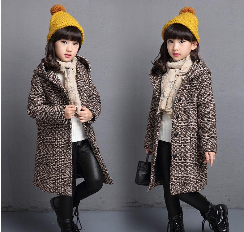 c01e2b2e19bb Thicken Woolen Jacket Kids Jacket Winter Outerwear Autumn Jackets ...