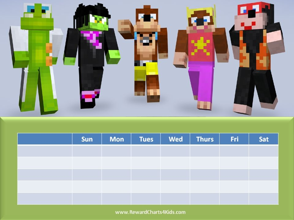 Free Printable Minecraft Behavior Charts Which Can Be Used For Various  Purposes By Parents Or Teachers.  Free Printable Reward Charts For Teachers