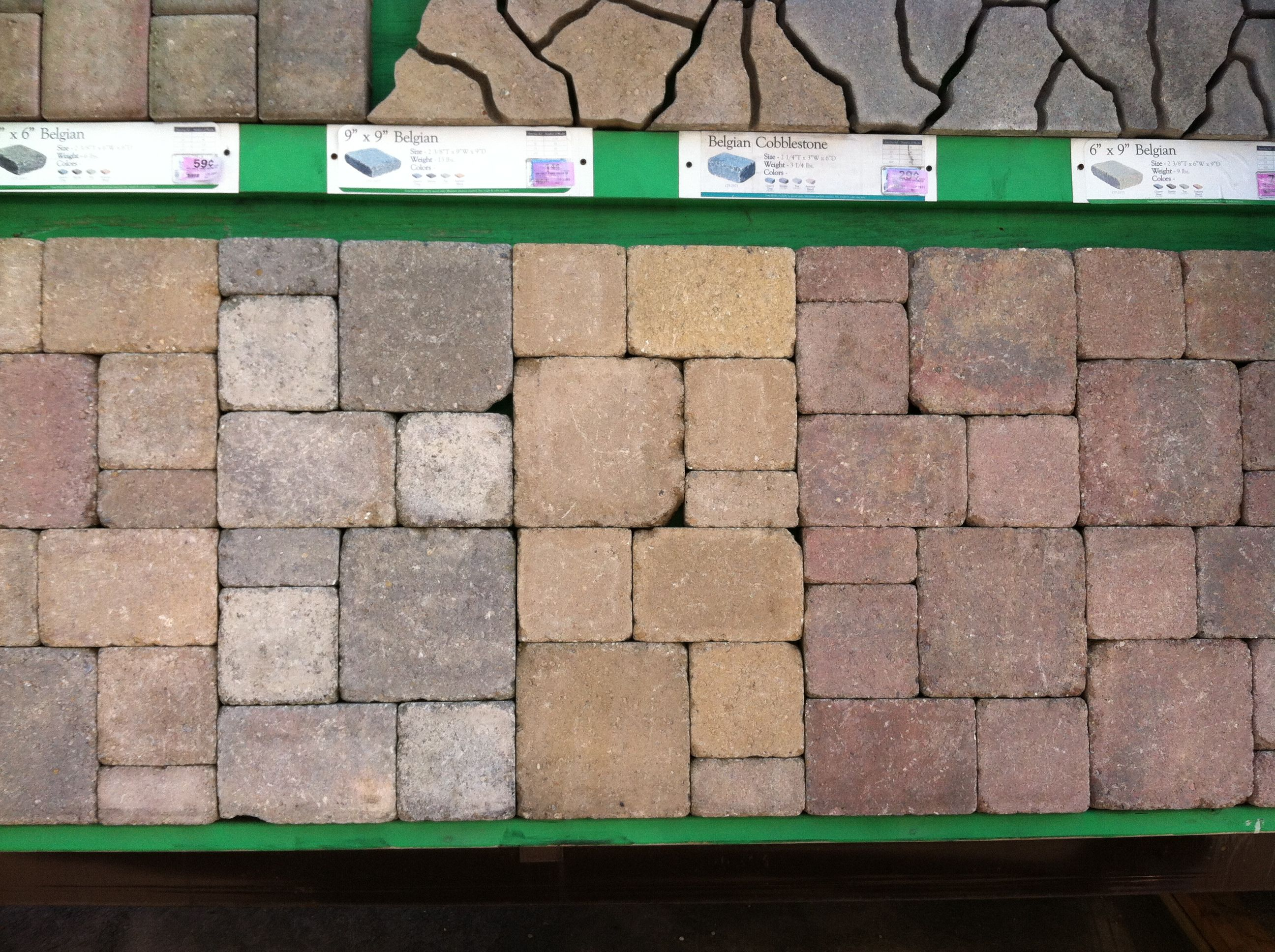 [+] Patio Pavers At Menards