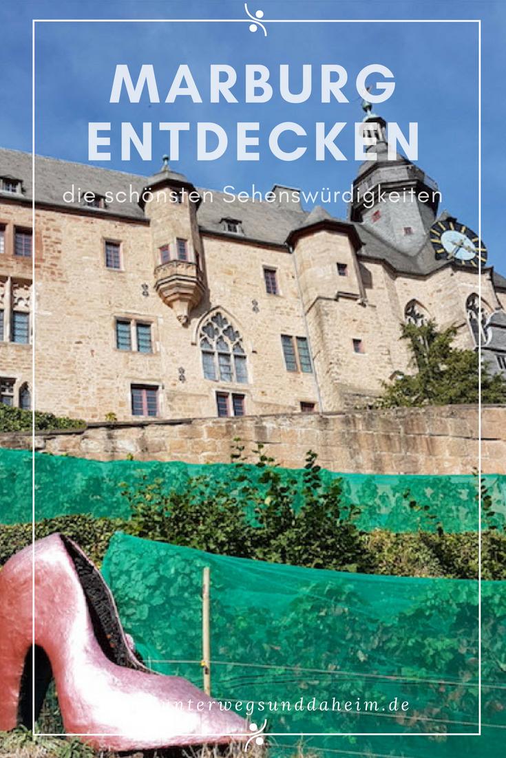 Marburg An Der Lahn Ist Bekannt Fur Seine Schonen Fachwerkhauser