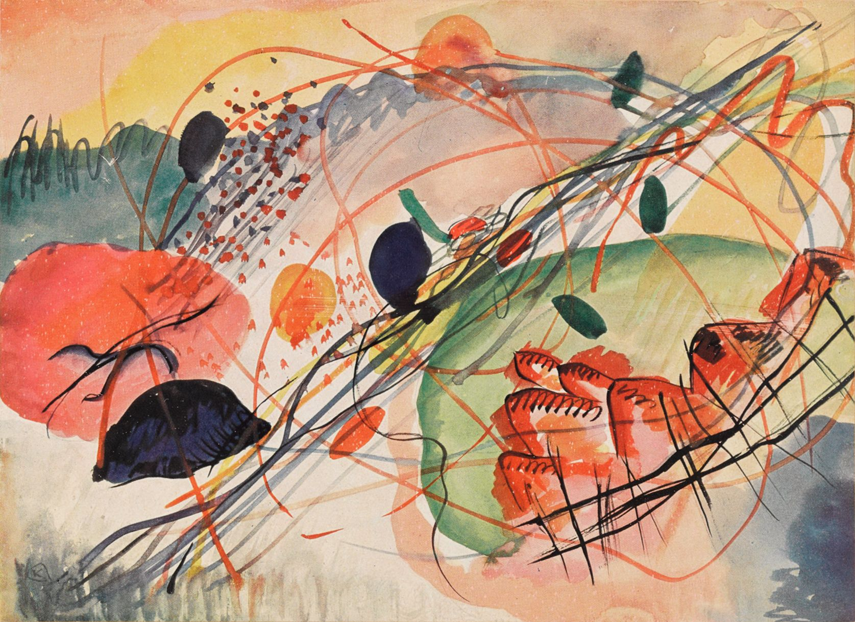 10 Artworks By Kandinsky You Should Know Art Wassily Kandinsky