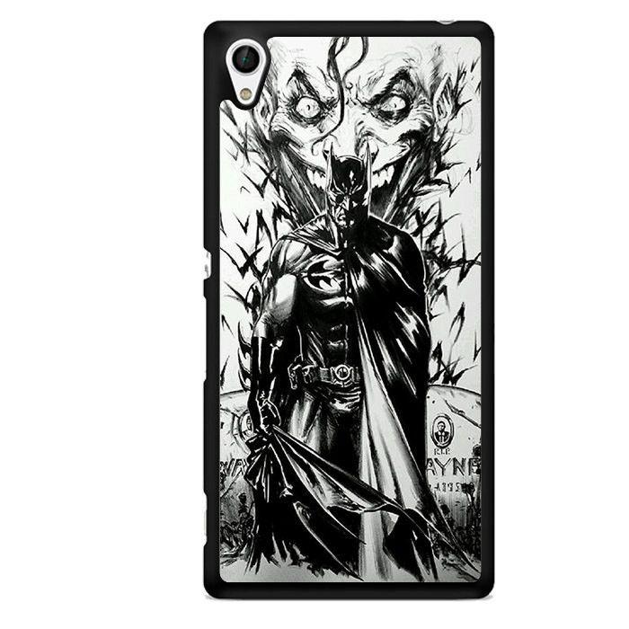 Batman & Joker Art TATUM-1402 Sony Phonecase Cover For Xperia Z1, Xperia Z2
