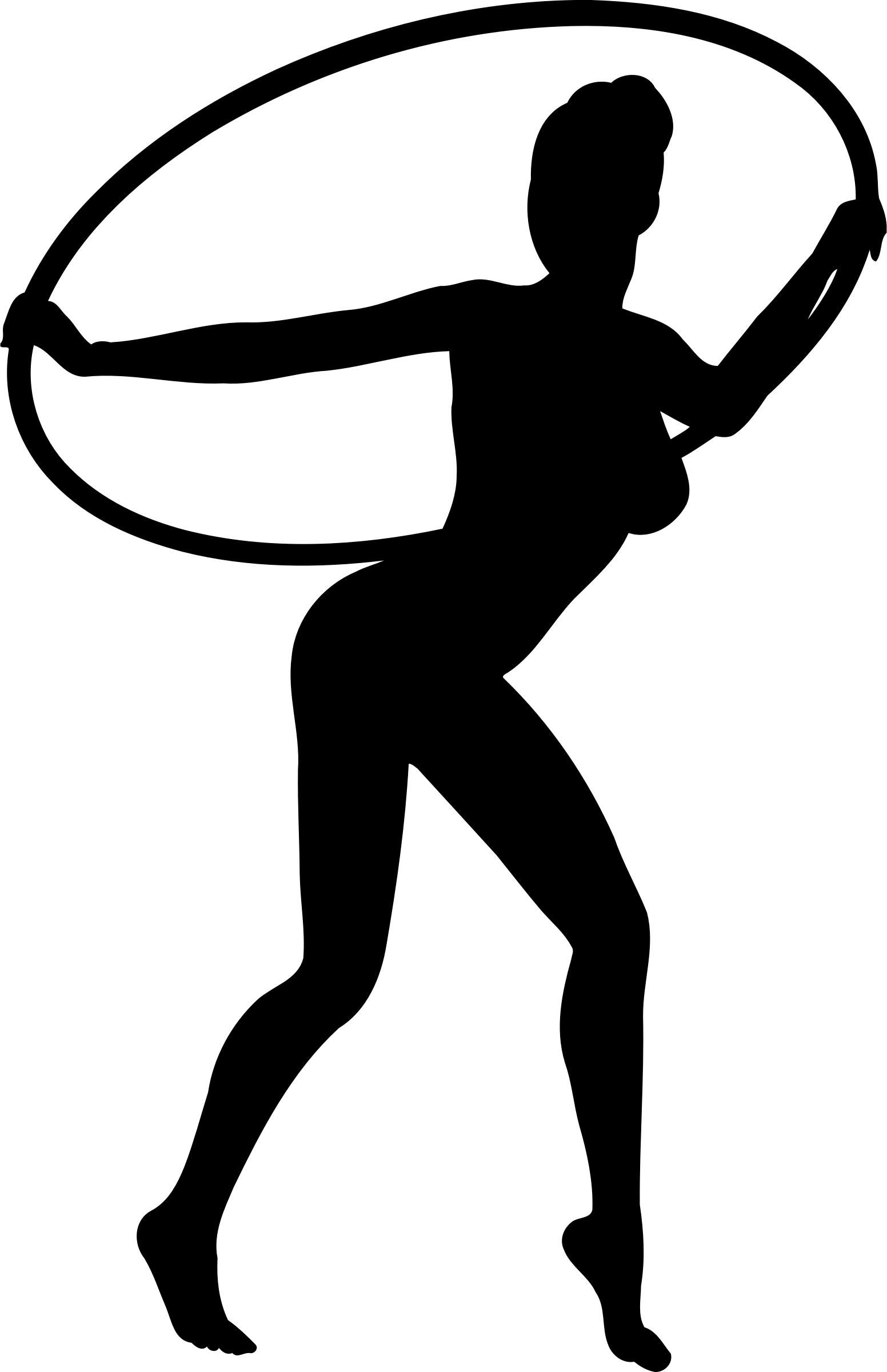 1552x2400 Girl Dancing With Hoop Silhouette Icons Png Silhouette Silhouette Images Human Silhouette