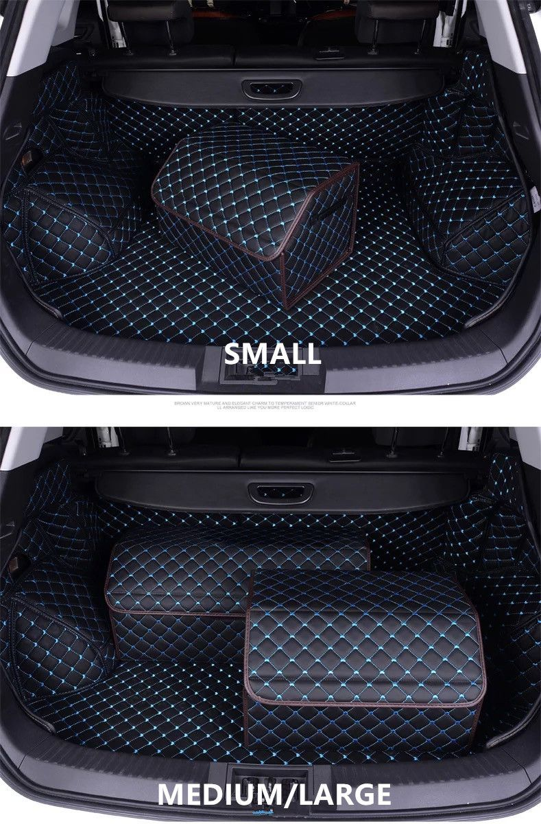 car trunk organizer black bling your ride cars trunk