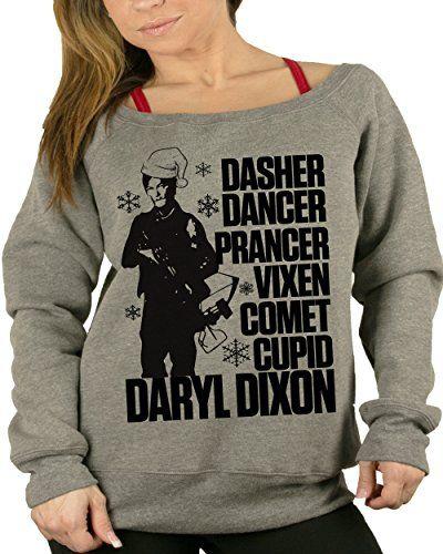 The Walking Dead Glen Daryl Dixon Season 7 Funny Ugly Christmas