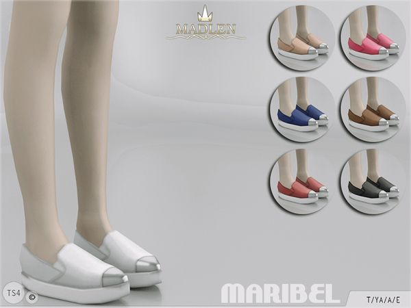 Madlen Maribel Shoes by MJ95 at TSR via Sims 4 Updates