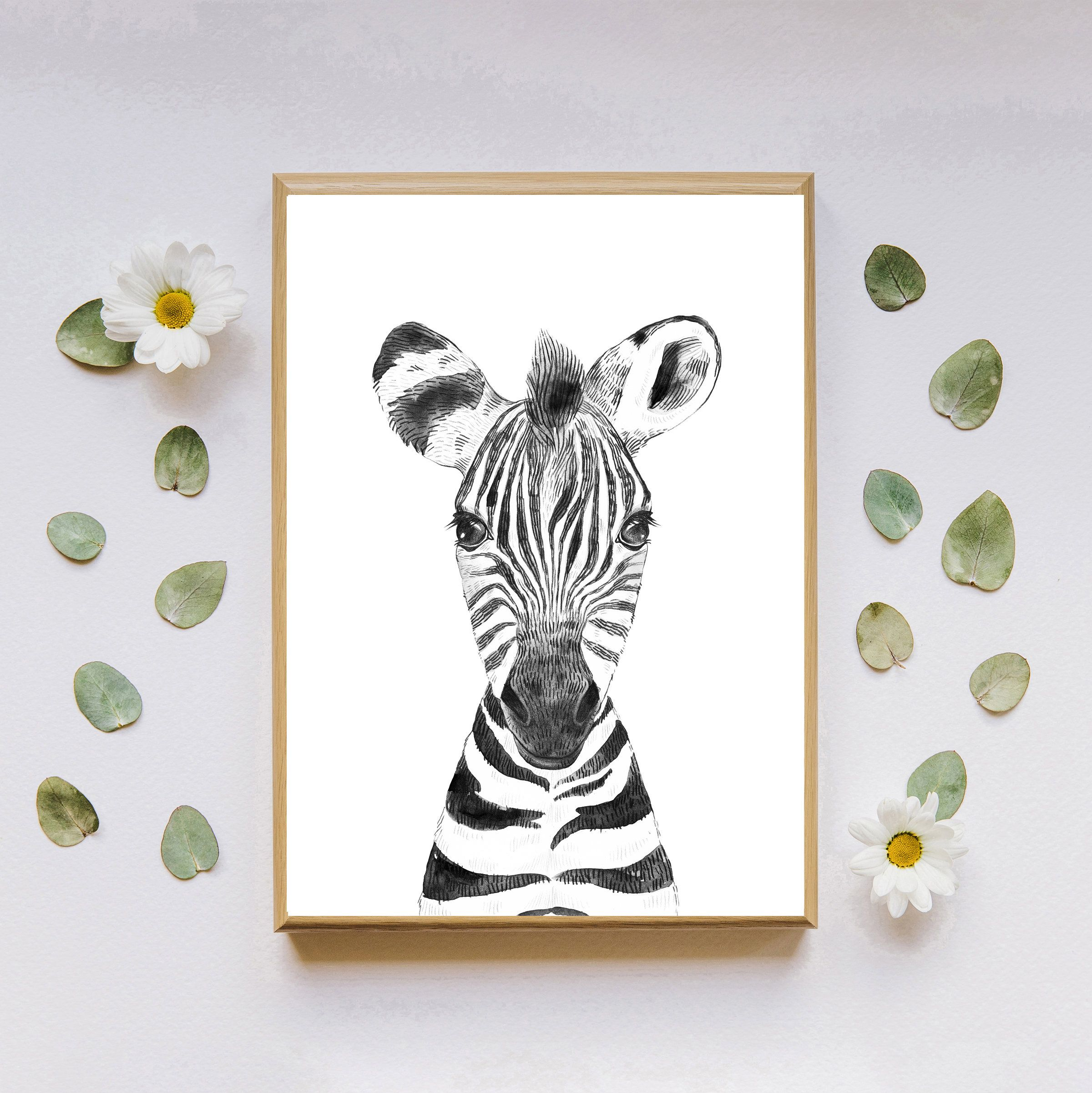 Zebra Nursery Wall Art Digital Download Nursery Decor Baby Animal Decor Printable Wall Art Zebra Print Safari Print Zebra Wall Decor Arte De Pared Imprimible Decoracion De Animales Arte Para Guarderia