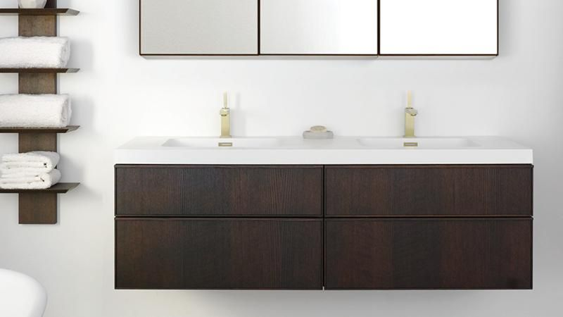 Frame Linea Collection Vanity Wetstyle Vanity Timeless Furniture