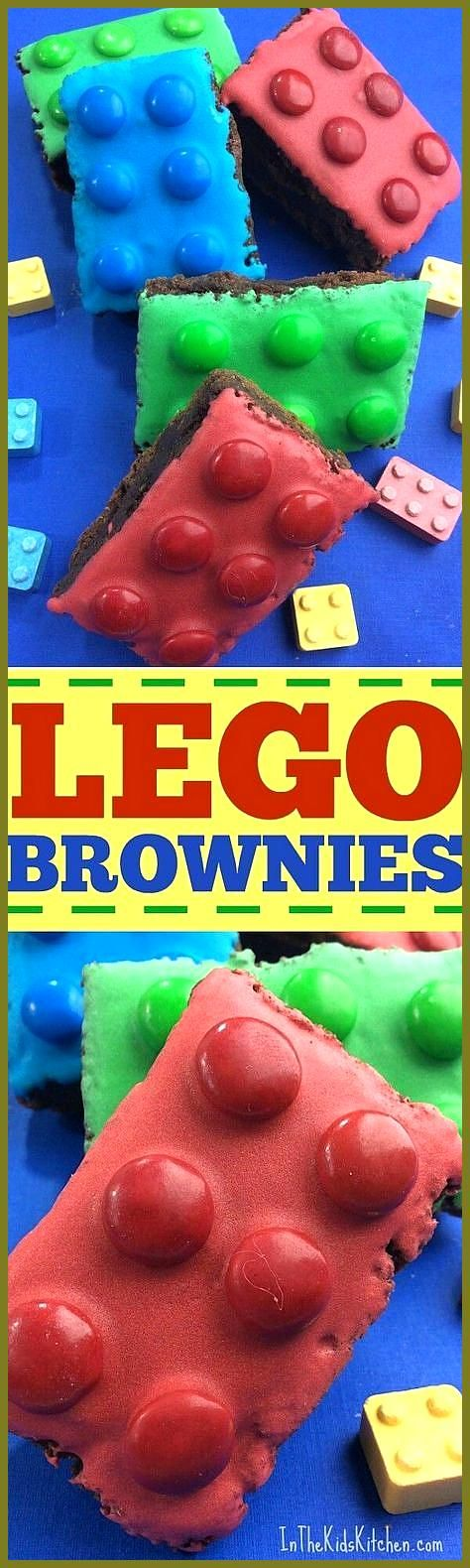 Perfect for a kids birthday party bake sales or to celebrate the new LEGO movies  these colorful LE