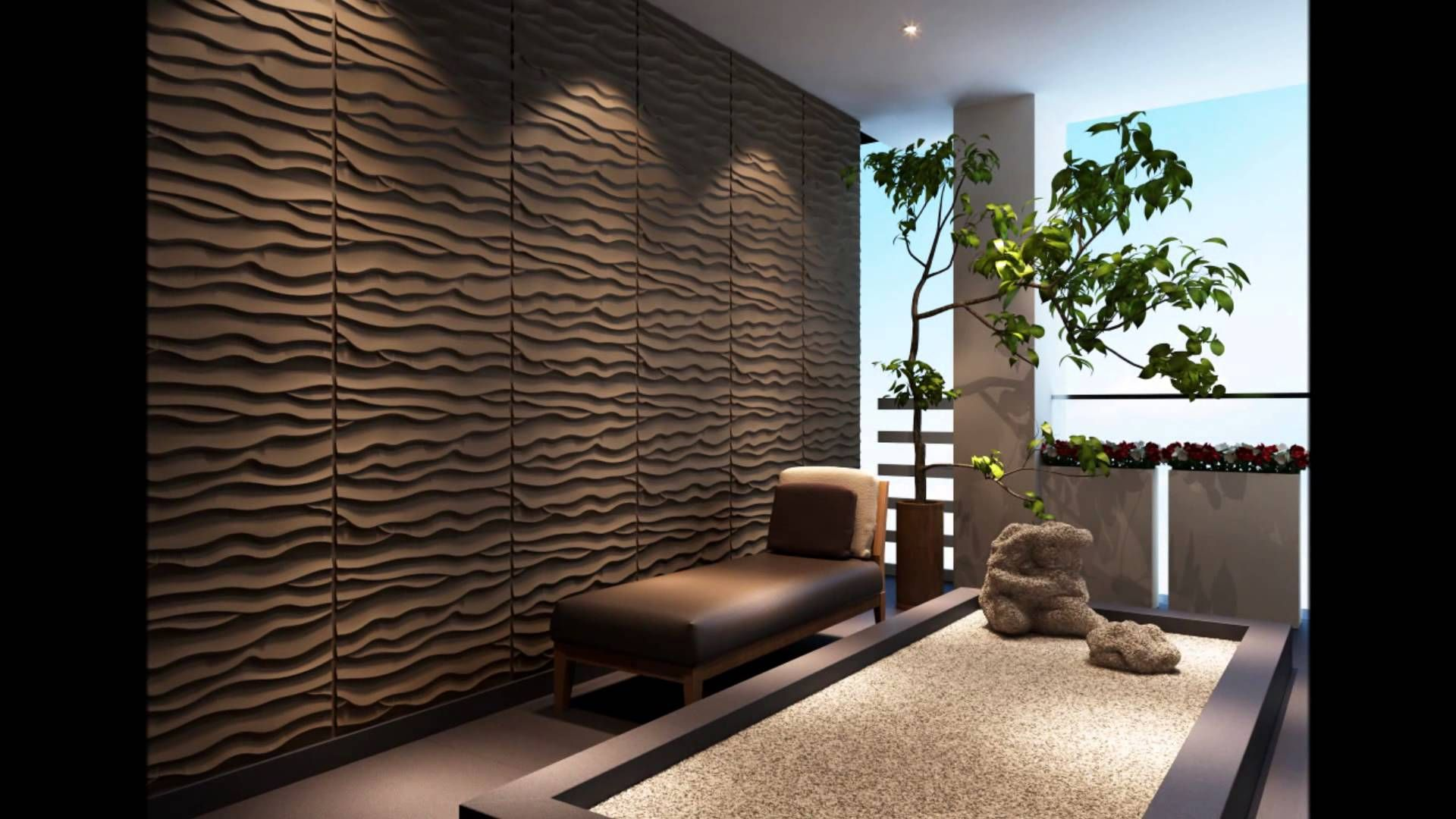 Triwol d interior decorative custom wall paneling design cnc