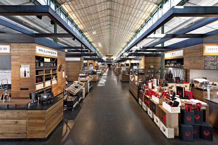 Rustic Retail Marketplaces Supermarket Design Atrium Design