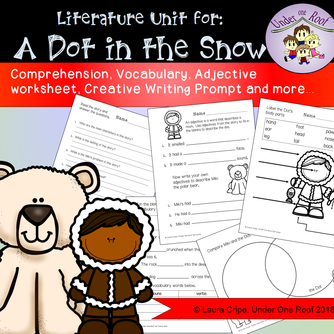 A Dot In The Snow Literacy Activities