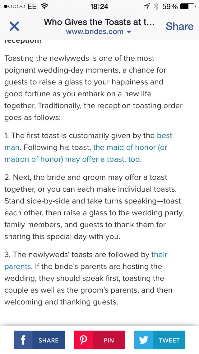 Toasts Sches