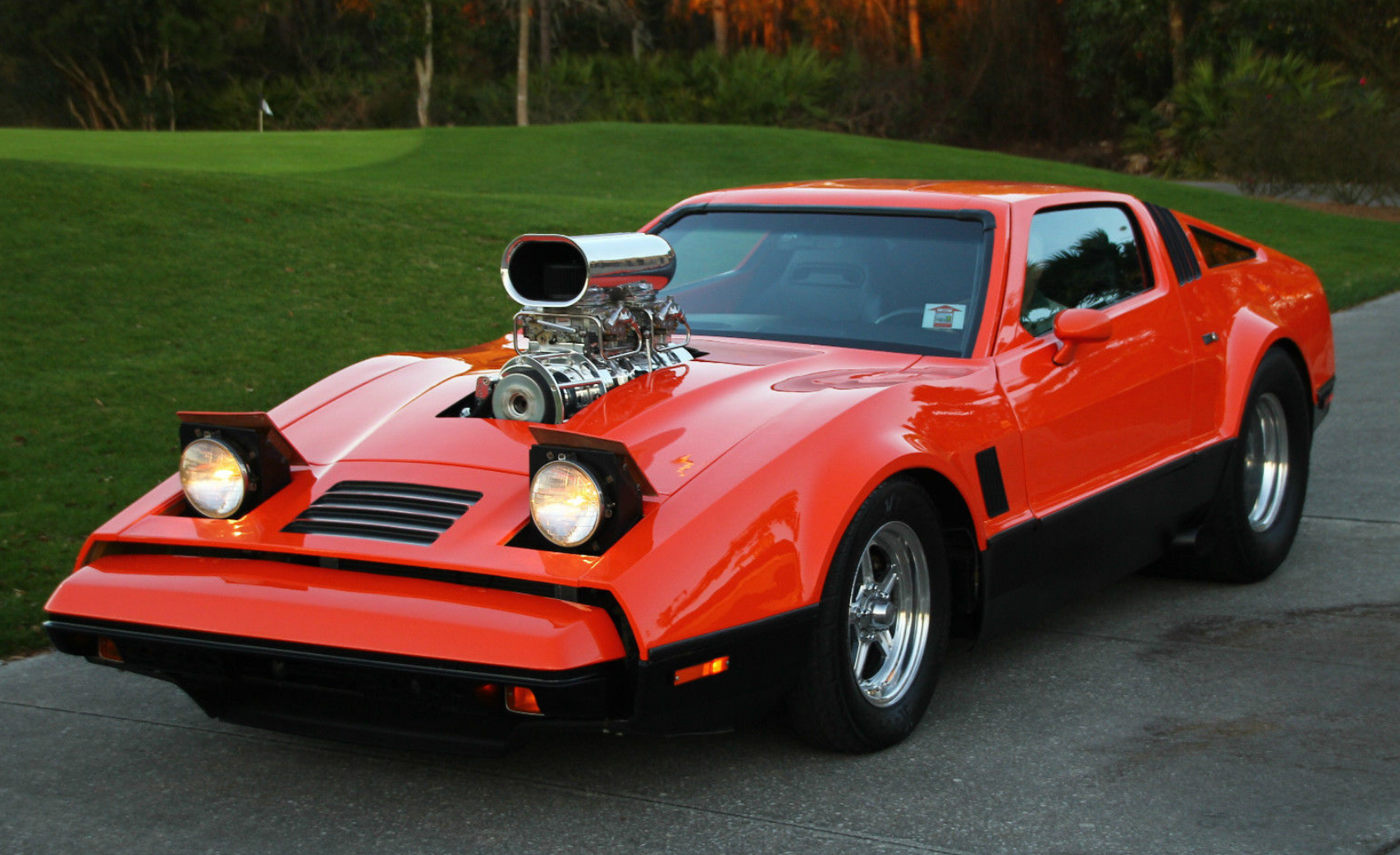 blown pro street Bricklin