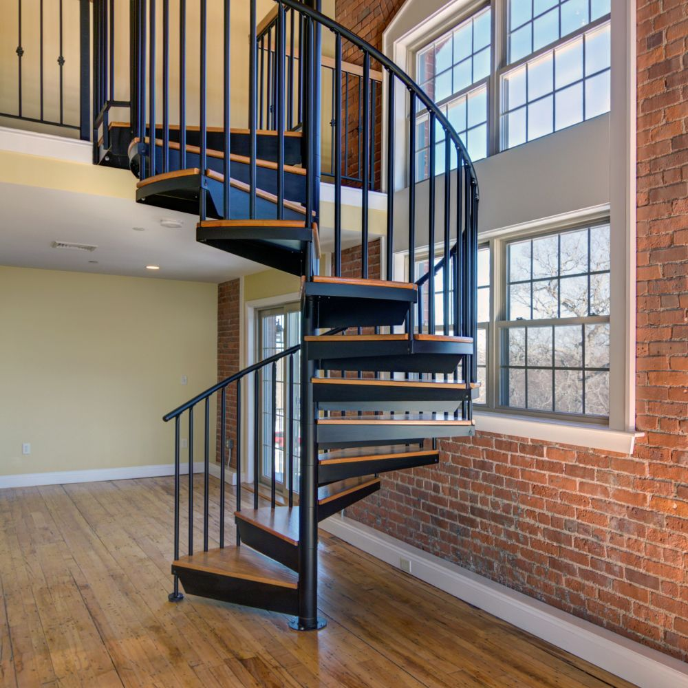 Best Classic Steel Spiral Stairs Prefab Stairs Stair Kits 640 x 480