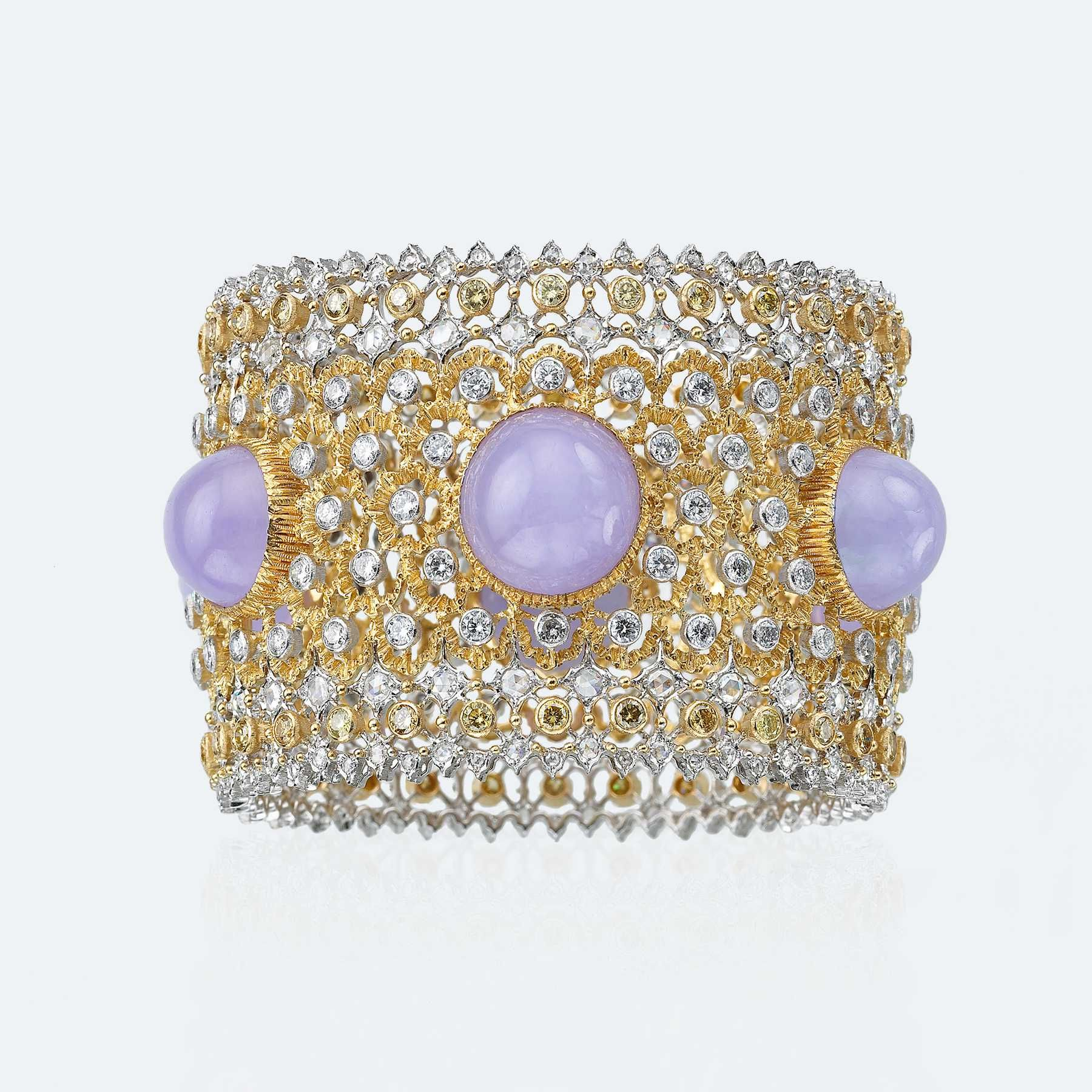 Giada Lavanda Bracelet - Unica | Official Buccellati Website