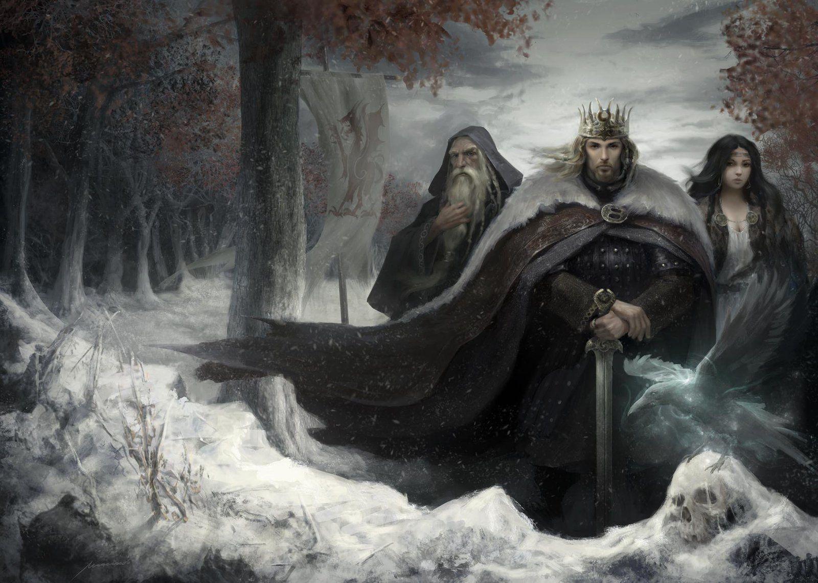 King Arthur Fantasy Art