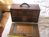 Antique Wood Machinist Tool Box C W Marwedel  Projects to Try Antique Wood Machinist Tool Box C W Marwedel  Projects to Try