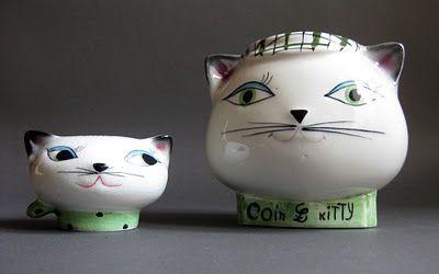 Holt Howard - Cozy Kitten by SECLA, 1962.