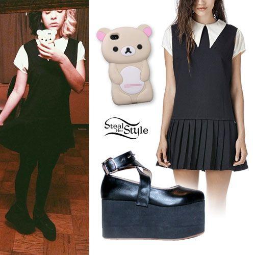 Melanie Martinez Schoolgirl Dress Platform Mary Janes