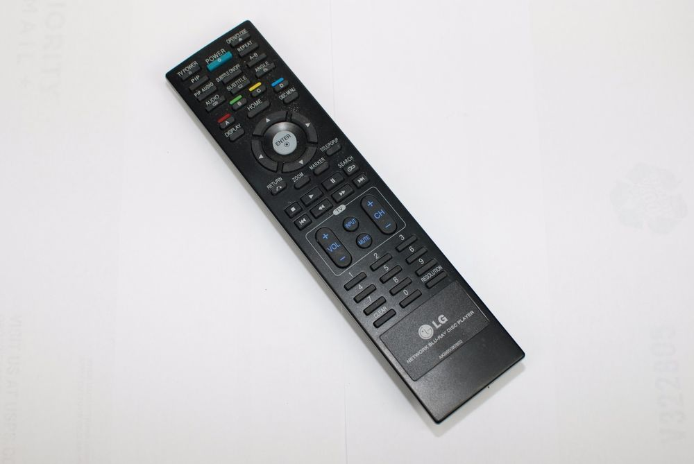 Original Lg Akb65092802 Bluray Dvd Remote Control Bd300