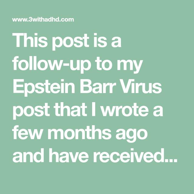 Natural Supplements for Chronic Epstein-Barr Virus | epstein