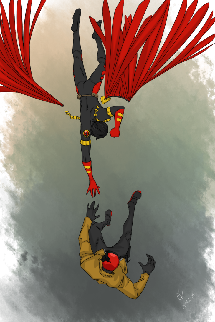 FALLING(Jason Todd and Tim Drake)