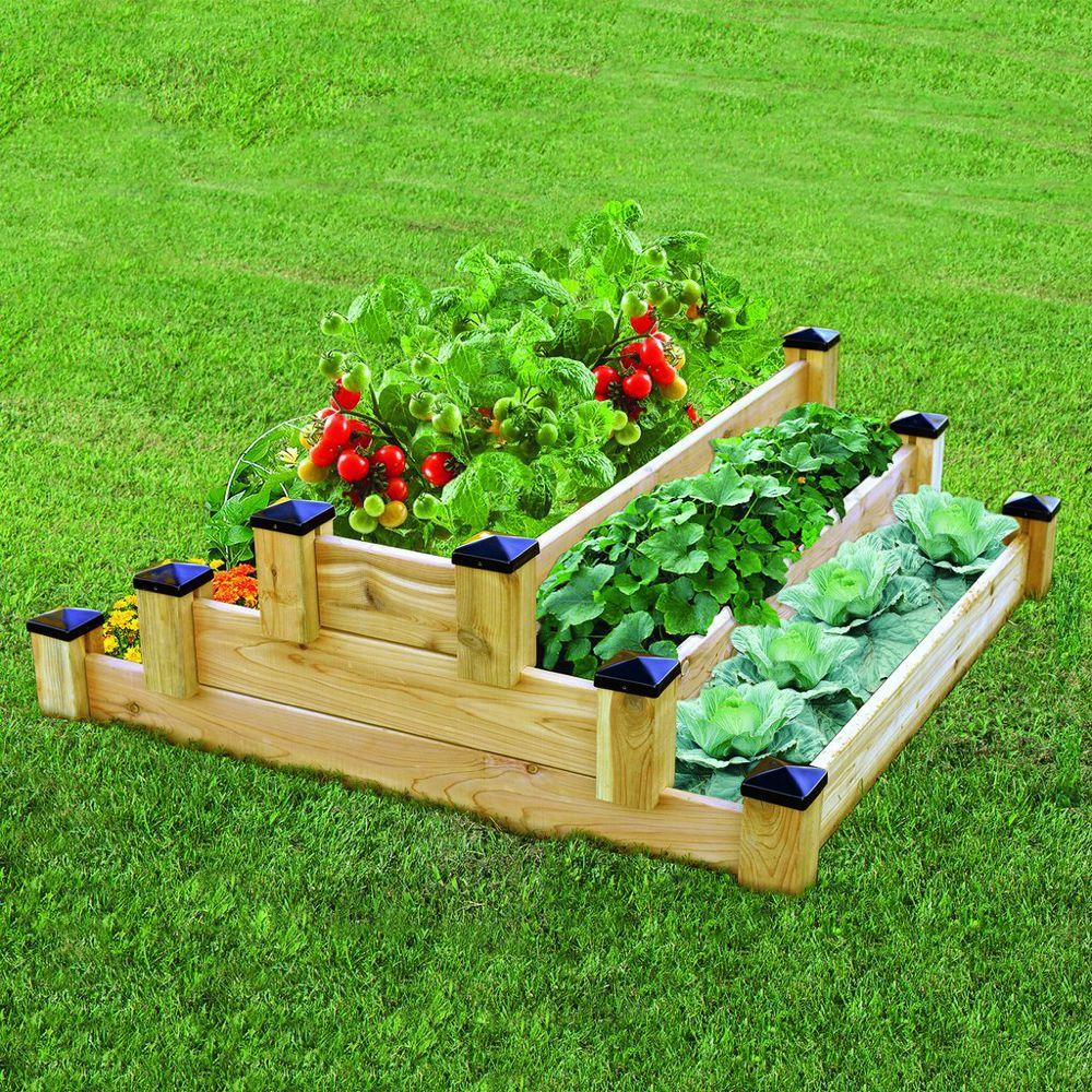 70c01835d5f69e485888d7f8ae086538 - Greenland Gardener Cedar Garden Bed Kit