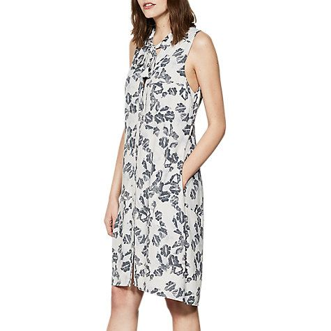 Mint Velvet Cecilia Print Cocoon Dress, Multi #silvesteroutfitdamen