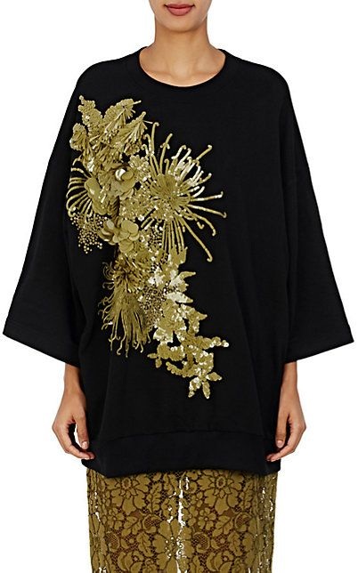 997d036861 We Adore  The Holtan Embellished Sweatshirt from Dries Van Noten at Barneys  New York