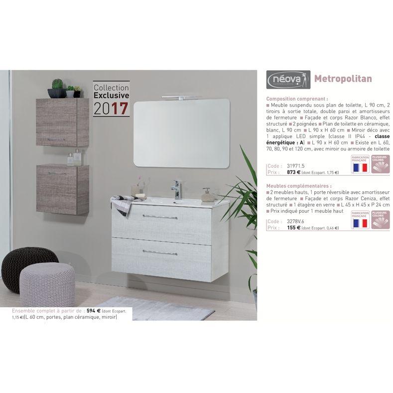 Découvrez le Catalogue Salle de Bains RICHARDSON ! Valmeinier - prix carrelage salle de bain