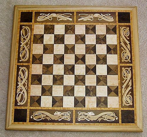 Wooden Chessboard Chess Board Chess Set Unique Chess