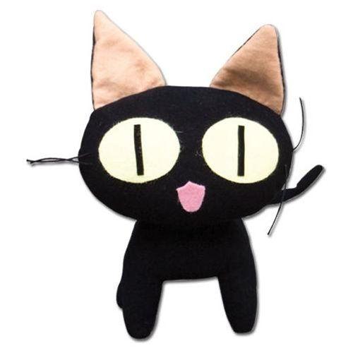 Kuro Neko Trigun Plush Black Japanese Anime Cat Plushie Toy Doll