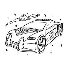 Top 25 Free Printable Hot Wheels Coloring Pages Online | Free ...