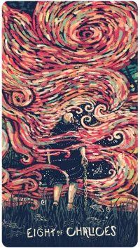 Xem Lá Eight of Chalices - Prisma Visions Tarot bài tarot