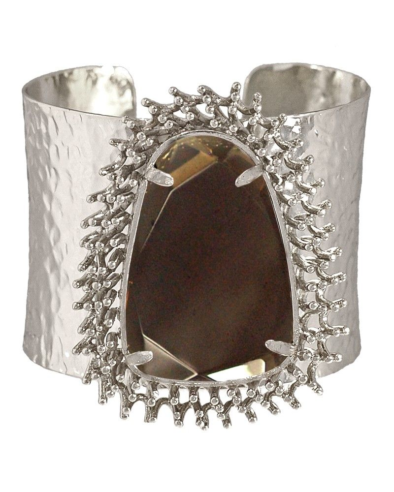 Lande Cuff in Smoky.  Kendra Scott