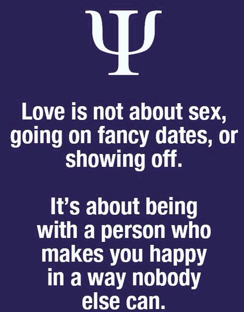 Thats What Love Is About Psychology Facts