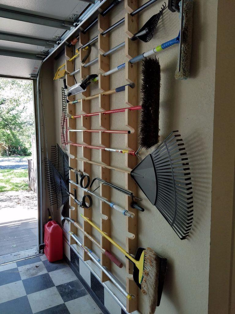 Garden Tool Rack