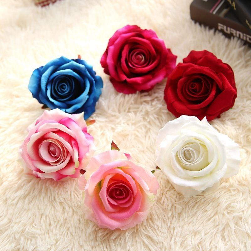 10PCS Tulip Flower Latex Real Touch Bridal Wedding Party Bouquet Home Decor HOT