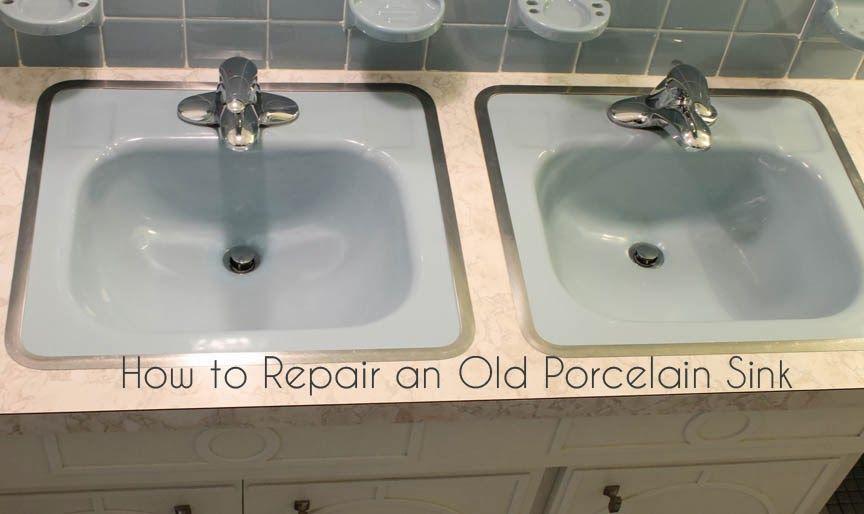 How To Repair A Porcelain Sink Porcelain Sink Sink Best