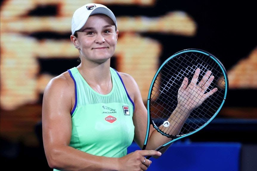 Ash Barty Wins Young Australian Of The Year Capping Great Year Ash Barty Named 2020 Young Australian Of The Year Y Di 2020 Rafael Nadal Serena Williams French Open