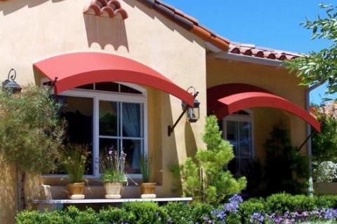 Stylish Arched Window Awnings Via King Awnings Awning Styles