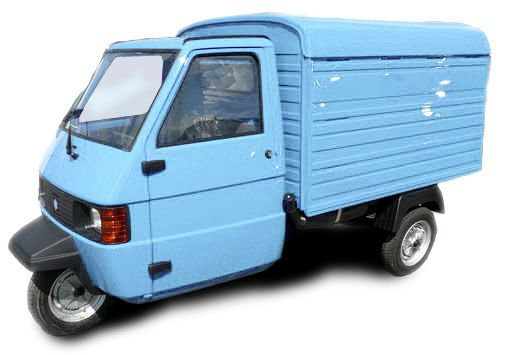 piaggio ape tm kasten hellblau neufahrzeug piaggio. Black Bedroom Furniture Sets. Home Design Ideas