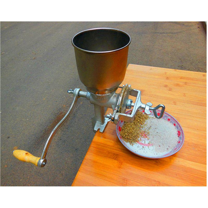 Manual Hand Home Large Walnut Peanut Corn Flour Mill tinned Iron ...