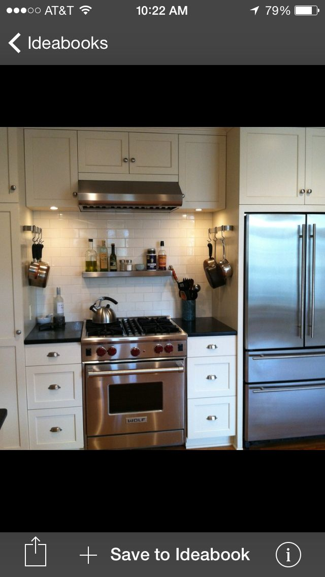 Possible Configuration For One Wall Of Our Kitchen