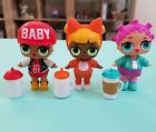 L.O.L. Little Outrageous Littles LOL Doll Lot of 3 with Accessories